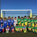パルティーダサッカースクールチーム交流戦。