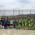 パルティーダサッカースクール交流戦。