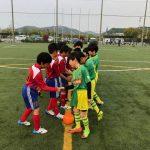 パルティーダサッカースクールチーム交流戦!!!